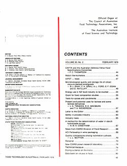 Food Technology in Australia PDF