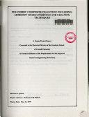 Polymeric Composite Film Study Including