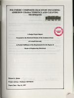Polymeric Composite Film Study Including PDF
