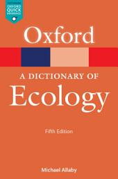 A Dictionary of Ecology: Edition 5