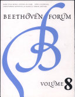 Beethoven Forum PDF
