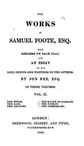The Works of Samuel Foote: Volume 3