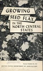 Growing Seed Flax in the North Central States