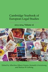 Cambridge Yearbook of European Legal Studies  Vol 16 2013 2014 PDF