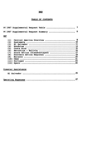 Foreign assistance and related programs appropriations for 1988 PDF