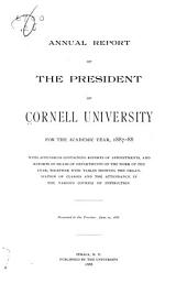 Annual Report of the President of Cornell University