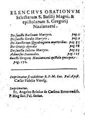 Ton agion pateron ton analecton omilion te kai epistolon. Tomos protos. Sanctorum patrum orationum & epistolarum selectarum. Volumen secundum. Pomponio Brunello Senensi interprete. ..