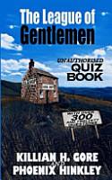 The League of Gentlemen Unauthorised Quiz Book PDF