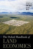 The Oxford Handbook of Land Economics PDF