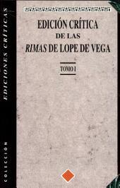 Edición crítica de las rimas de Lope de Vega: (Tomo I)
