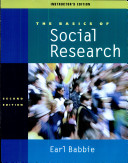 Instructor's Edition for Basics of Social Research, 2nd