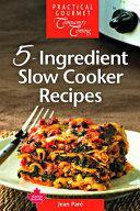 5 Ingredient Slow Cooker Recipes Book PDF