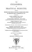 The Cyclopaedia of Practical Medicine PDF