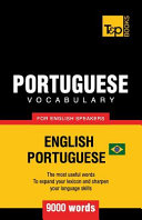 Portuguese Vocabulary for English Speakers   English Portuguese   9000 Words  Brazilian Portuguese PDF