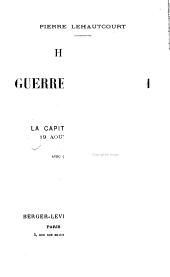 Histoire de la guerre de 1870-1871 ...: La capitulation de Metz, 19 août- 29 octobre, 1870. 1908