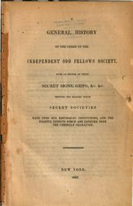 A General History of the Order of the Independent Odd Fellows Society PDF