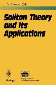 Soliton Theory and Its Applications PDF
