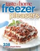 Taste Of Home Freezer Pleasers Cookbook