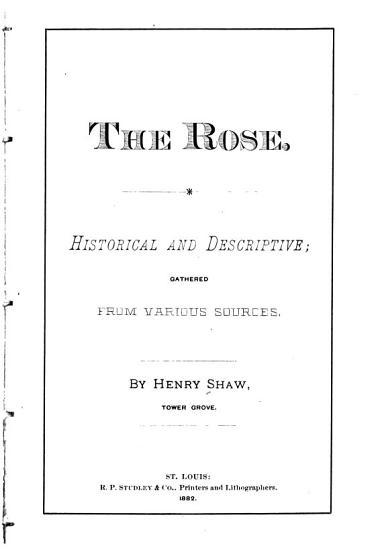 The Rose  Historical and Descriptive PDF