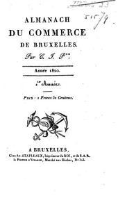 Almanach du commerce de Bruxelles