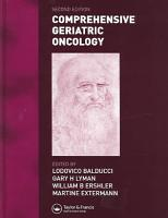Comprehensive Geriatric Oncology  Second Edition PDF