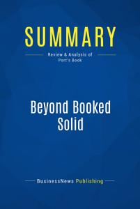 Summary  Beyond Booked Solid Book