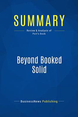 Summary  Beyond Booked Solid