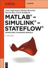 MATLAB - Simulink - Stateflow: Grundlagen, Toolboxen, Beispiele, Ausgabe 8