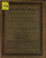 Jurende s vaterl  ndischer Pilger im Kaiserstaate Oesterreichs PDF