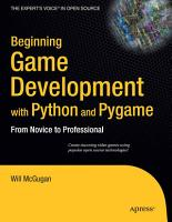 Beginning Game Development with Python and Pygame PDF