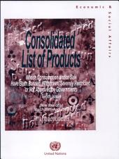 Consolidated List of Products Whose Consumption And/or Sale Have Been Banned, Withdrawn, Severely Restricted Or Not Approved by Governments: Pharmaceuticals, Volume 10