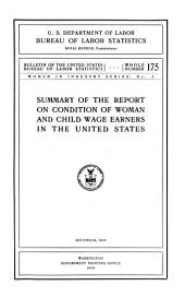 Bulletin of the United States Bureau of Labor Statistics: Issues 175-180