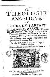 La théologie angélique ou l'idée du parfait docteur