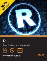 R  Data Analysis and Visualization PDF