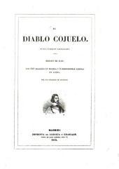 El Diablo cojuelo: Nueva version castellana. Edicion de lujo, von 120 grabados en madera y 2 hermosísimas láminas en acero, por una sociedad de artistas
