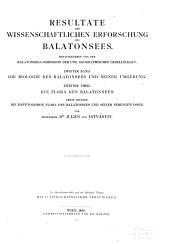 Die Kryptogomon Flora des Balatonsees und seiner Nebengewässer