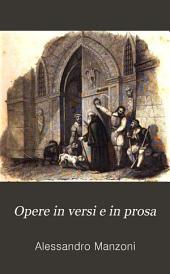 Opere in versi e in prosa
