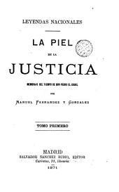 La Piel de la justicia: memorias del tiempo de don Pedro el Cruel