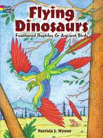 Flying Dinosaurs Coloring Book PDF