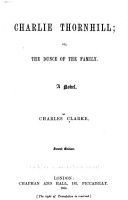 Charlie Thornhill  Or The Dunce of the Family PDF