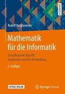 Mathematik f  r die Informatik PDF