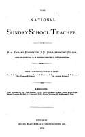 The National Sunday School Teacher PDF