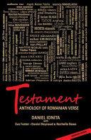 Testament   Anthology of Romanian Verse PDF