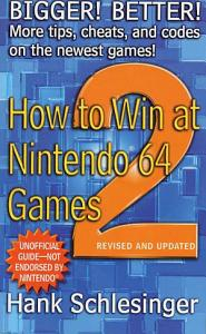 How to Win at Nintendo 64 Games 2 Book