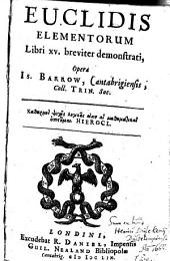 Elementa geometrie: libri XV.