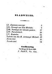 Parochieboek of beschrijving van Sint-Michiels