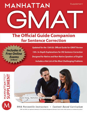 Official Guide Companion for Sentence Correction PDF
