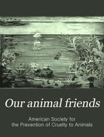 Our Animal Friends PDF