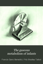 The Gaseous metabolism of infants: Issue 201