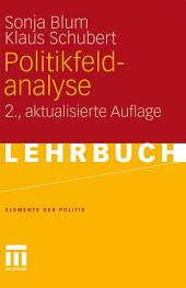 Politikfeldanalyse: Ausgabe 2
